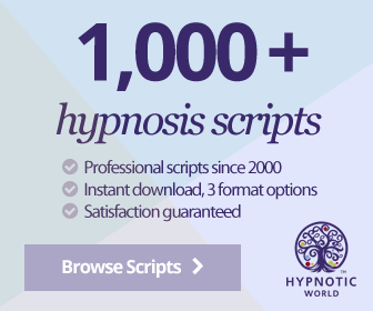 Link to the main index of hypnosis script products on Hypnotic World.