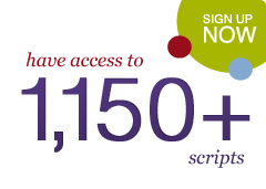 Members have access to 1,100+ scripts. Sign up here.
