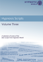 Book of Hypnosis Scripts Volume Three