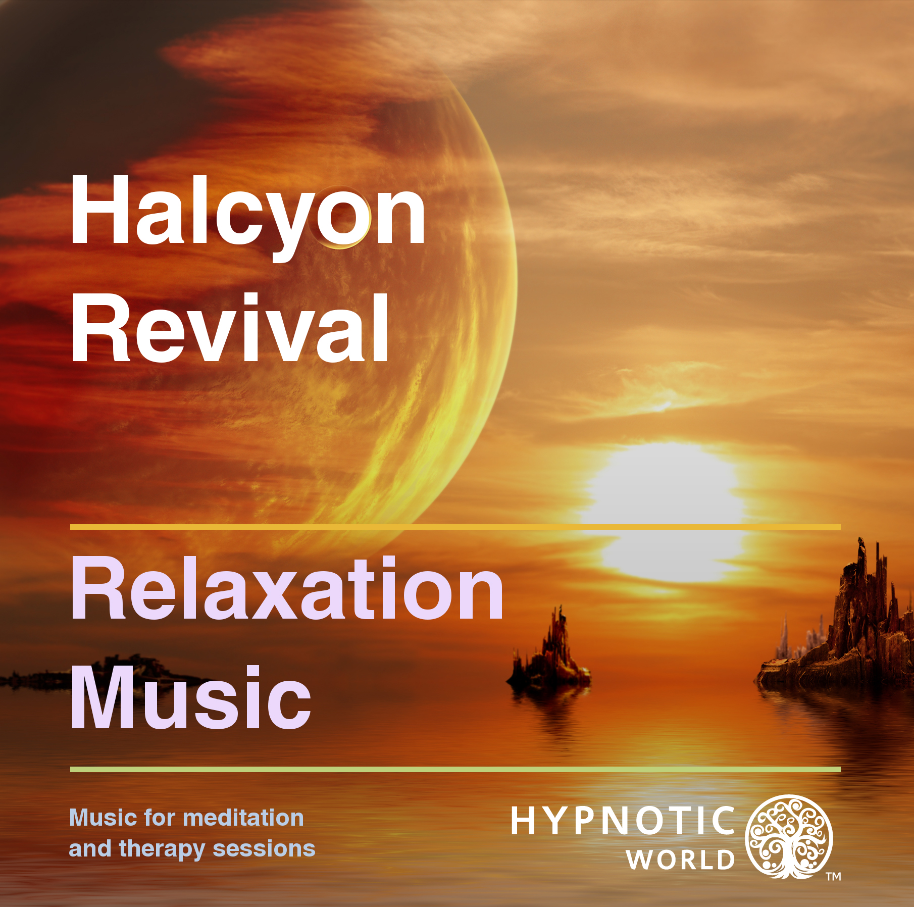 Halcyon Revival Relaxation Music CD