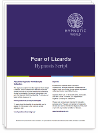 Fear of Lizards