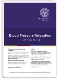 Blood Pressure Relaxation Script
