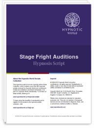 Stage Fright Auditions Script
