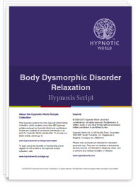 Body Dysmorphic Disorder Relaxation