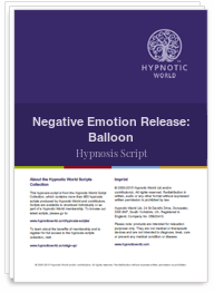 Negative Emotion Release: Balloon