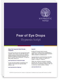 Fear of Eye Drops Script