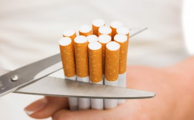 Cutting down on cigarettes