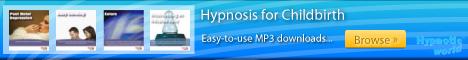 Childbirth hypnosis MP3 downloads