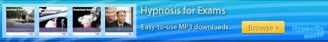 Exams hypnosis MP3 downloads