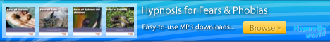 Fears and Phobias hypnosis MP3 downloads