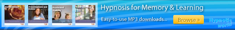 Memory and Learning hypnosis MP3 downloads