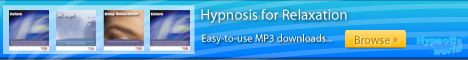 Relaxation hypnosis MP3 downloads